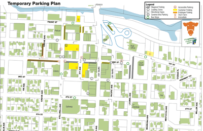 Temporary Parking Plan