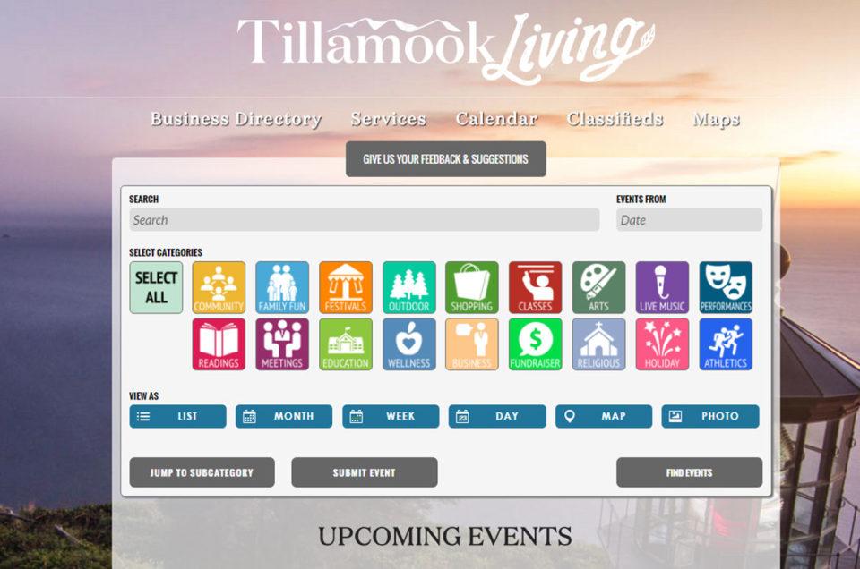 Tillamook Living Calendar