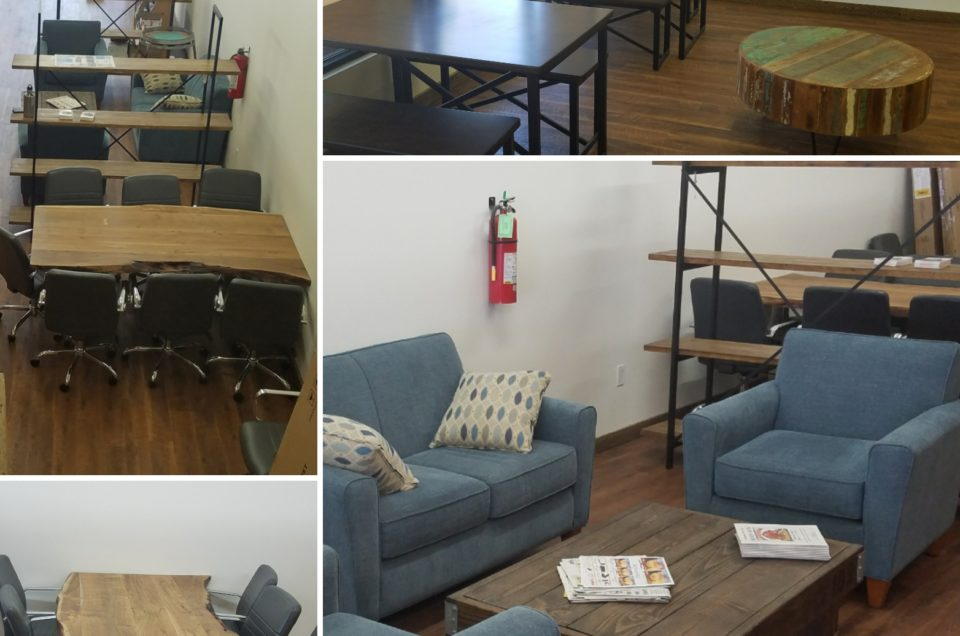 Enjoy our new business lounge and meeting spaces