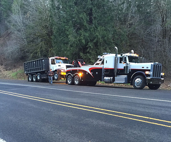 Tillamook Oregon Heavy Duty Towing