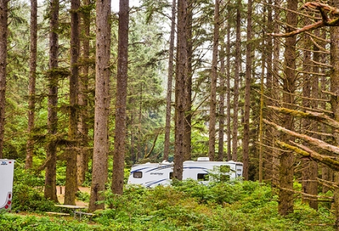 Cloverdale Lodging Campgrounds RV Parks