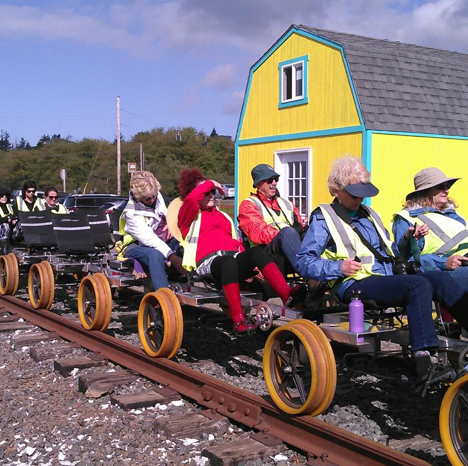 Tillamook Attractions Recreation Railriders