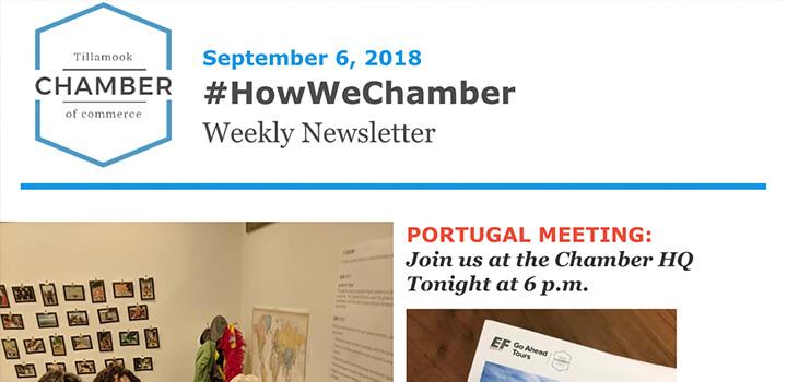 #HowWeChamber Newsletter