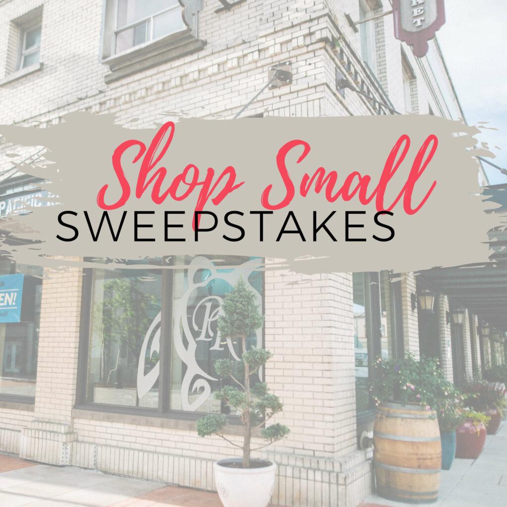 Shop Small Sweepstakes Tillamook